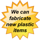 we can fabricate new plastic items
